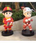 消防主题商业街标识系统_消防标识牌