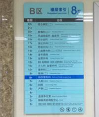 医院标识系统_医院导视牌_导视系统