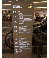 立牌_发光楼层索引牌_楼层指示牌_商场楼层索引牌
