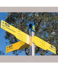 多向指示牌_道路标志牌_标志杆